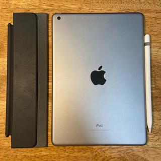 Apple - iPad 6 32GBスペースグレー Apple Pencil 1 カバー付き