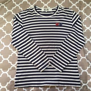 コムデギャルソン(COMME des GARCONS)のplay コムデギャルソン メンズ L (Tシャツ/カットソー(七分/長袖))