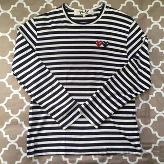 コムデギャルソン(COMME des GARCONS)のplay コムデギャルソン メンズ M(Tシャツ/カットソー(七分/長袖))