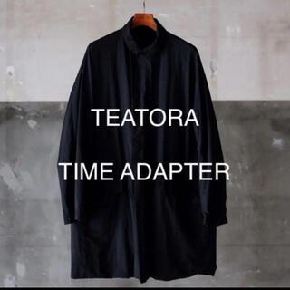 コモリ(COMOLI)のteatora timeadapter パッカブル ブラック サイズ3(ステンカラーコート)