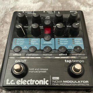 【本体のみ】t.c. electronic NOVA MODULATOR(エフェクター)