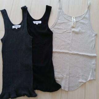 エンフォルド(ENFOLD)のエンフォルド タンクトップインナー3枚セット(Tシャツ(半袖/袖なし))