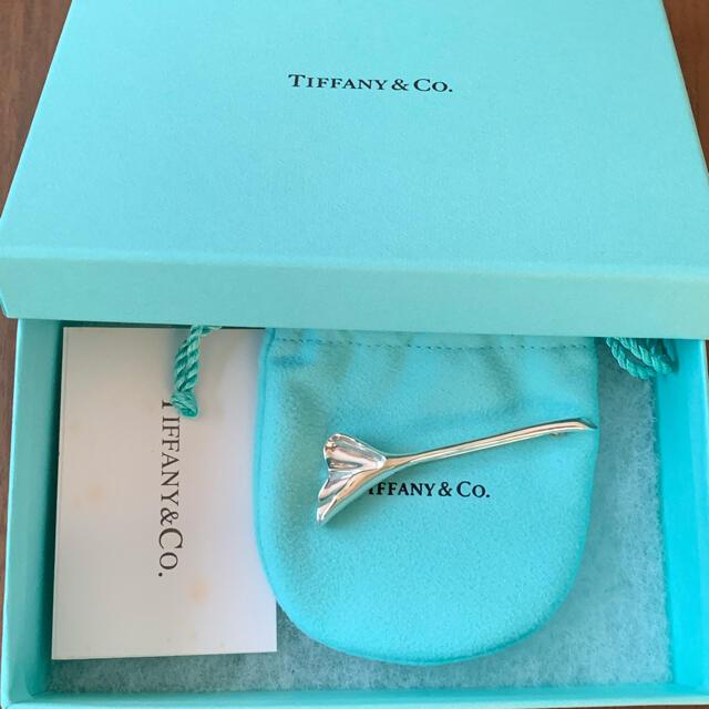 Tiffany & Co.(ティファニー)のTiffany&Co. ティファニー イチョウ ピン ブローチ レディースのアクセサリー(ブローチ/コサージュ)の商品写真