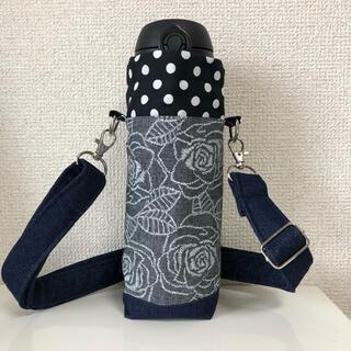 水筒カバー ペットボトルカバー 保冷保温 薔薇(外出用品)