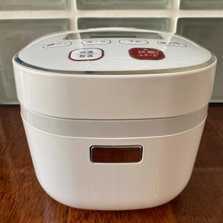 シャープ(SHARP)のシャープ 炊飯器 3合  KS-C5H ホワイト 白(炊飯器)