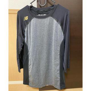 New Balance - ニューバランスアンダーシャツ 七分袖 Lサイズ