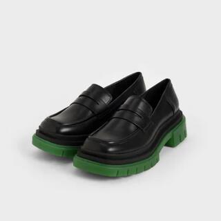 チャールズアンドキース(Charles and Keith)のベーシックペニーローファー / Basic Penny Loafers(ローファー/革靴)