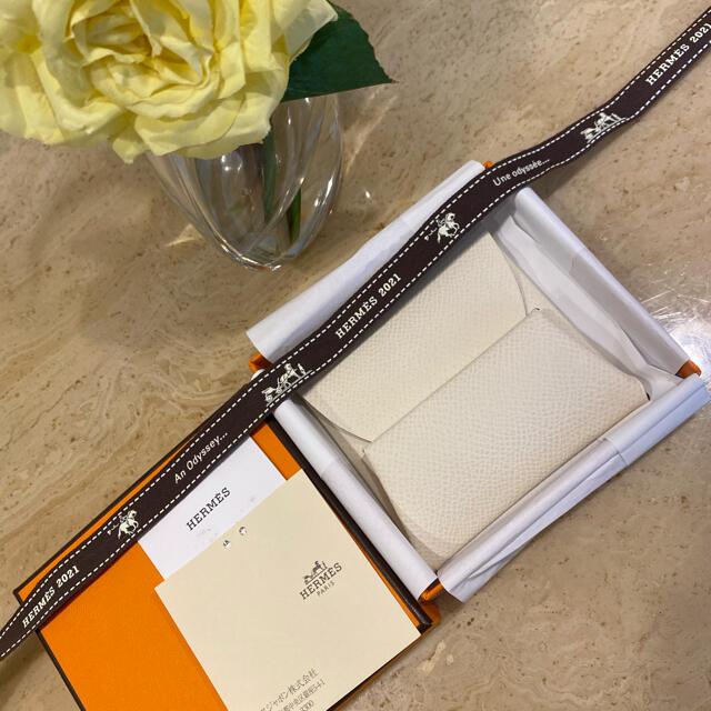 Hermes(エルメス)の新品☆エルメス☆バスディア ナタ エプソン Z刻印 ご銭入れ お財布 付属品完備 レディースのファッション小物(財布)の商品写真