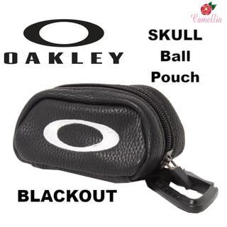 オークリー(Oakley)の新品 OAKLEY オークリー SKULL ボールポーチ ケース BK(バッグ)