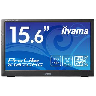 iiyamaイーヤマ  X1670HC 15.6型 液晶ディスプレイ