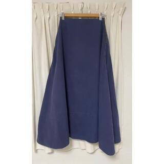 マディソンブルー(MADISONBLUE)のマディソンブルー☆MADISONBLUE バックサテンスカート(ロングスカート)