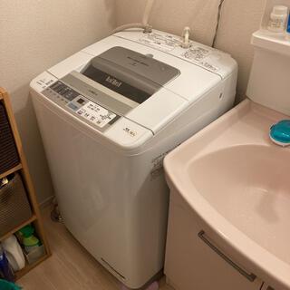 HITACHI BW-80MVE8形 BEATWASH 8キロ 洗濯機