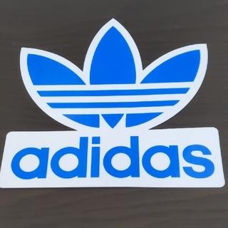 adidas - (縦16.5cm横16.8cm) adidas ステッカー