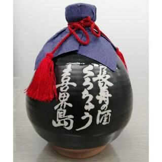 長寿の酒 くろちゅう 喜界島 黒壺 1000ml  37% 古酒 未開栓(焼酎)
