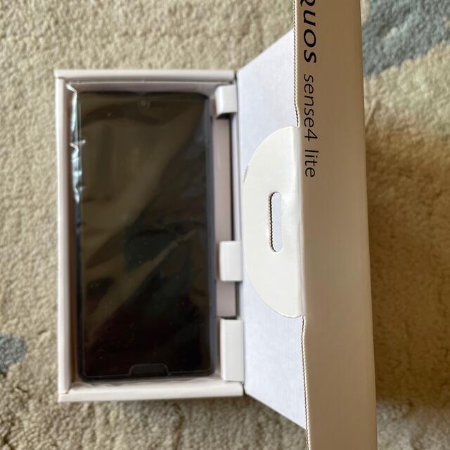 SHARP(シャープ)の【新品同様】AQUOS sense4 lite ライトカッパー スマホ/家電/カメラのスマートフォン/携帯電話(スマートフォン本体)の商品写真
