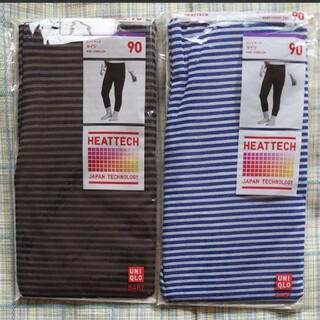 ユニクロ(UNIQLO)のヒートテックタイツ 2足 ユニクロ 90サイズ(靴下/タイツ)