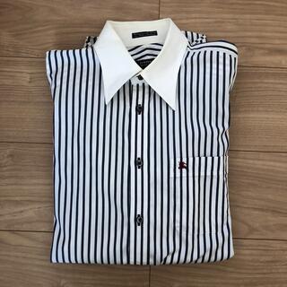 バーバリーブラックレーベル(BURBERRY BLACK LABEL)の★バーバリーブラックレーベル★ストライプシャツ (シャツ)