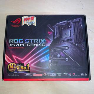 ASUS - ASUS ROG STRIX X570-E GAMING ATX マザーボード
