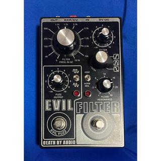 death by audio EVIL FILTER FUZZ(エフェクター)