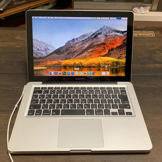 Apple - MacBook Pro MD313J/A 13.3インチ 2.4GHz