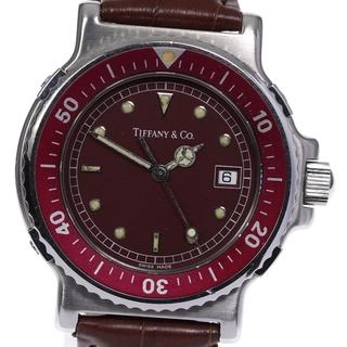ティファニー(Tiffany & Co.)のティファニー ダイバー デイト M0710 クォーツ メンズ 【中古】(腕時計(アナログ))