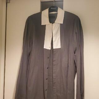 プラダ(PRADA)の状態良好‼️金額確定‼️PRADA バイカラーシャツ(シャツ)