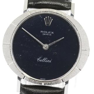 ロレックス(ROLEX)のロレックス チェリーニ 3879/8 レディース 【中古】(腕時計)