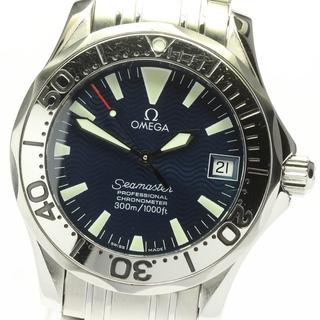 オメガ(OMEGA)のオメガ シーマスター300 ジャックマイヨール ボーイズ 【中古】(腕時計(アナログ))