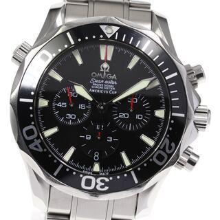 オメガ(OMEGA)のオメガ シーマスター300 アメリカズカップ 2594.50 メンズ 【中古】(腕時計(アナログ))