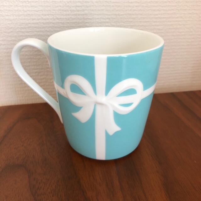 Tiffany & Co.(ティファニー)のティファニー ブルーリボン マグカップ インテリア/住まい/日用品のキッチン/食器(グラス/カップ)の商品写真