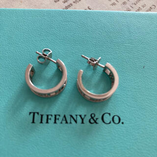 Tiffany & Co. - お値下げ☆ティファニー☆アトラスピアス☆k18 WG☆
