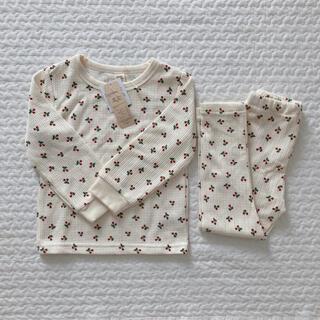 しまむら - パジャマ 長袖 上下セット 女の子 100 新品 未使用 タグ付き