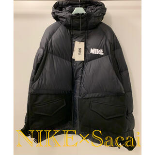 sacai - 【新品!】NIKE×Sacai 20AW   素材切替ナイロンダウンジャケット