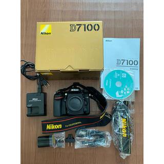 Nikon - Nikon D7100 ニコン デジタル一眼レフカメラ ストラップ付