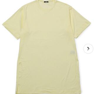 新品 イレーヴ オーガニックコットントップス(Tシャツ(半袖/袖なし))