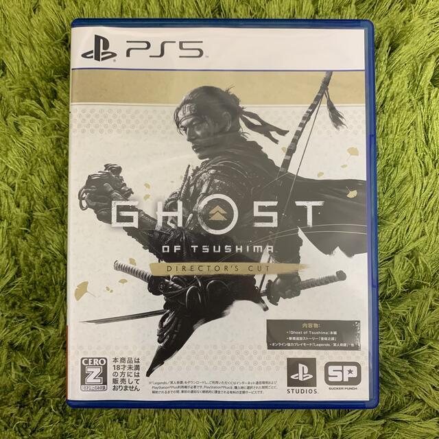 Ghost of Tsushima Director's Cut PS5 エンタメ/ホビーのゲームソフト/ゲーム機本体(家庭用ゲームソフト)の商品写真