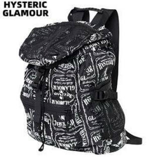 HYSTERIC GLAMOUR - 新品タグ付 ヒステリックグラマー VIP CLUB 総柄 リュック バックパック
