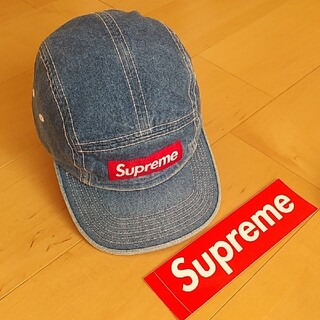 Supreme - supreme Contrast stitch キャップ