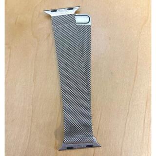 Apple - 純正品 Apple Watch ミラネーゼループバンド シルバー 40mm