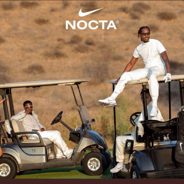 NIKE(ナイキ)のナイキ nocta ゴルフ モックネック ホワイト Mサイズ ドレイク メンズのトップス(Tシャツ/カットソー(半袖/袖なし))の商品写真