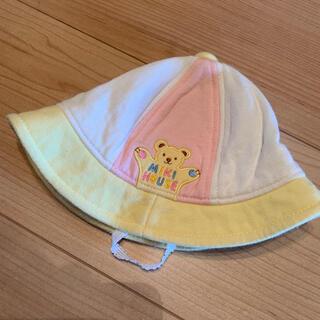 ミキハウス(mikihouse)のミキハウス  ベビー帽子 42cm(帽子)