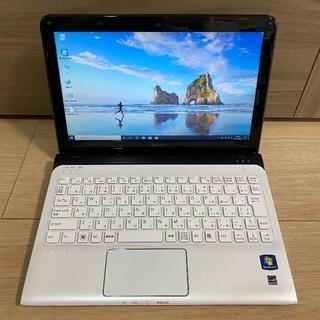 中古 ノートパソコン SONY VAIO SVE11119FJW AMD E2