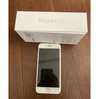 iPhone - iPhone6s 白 ゴールド 本体 ドコモ docomo SIMフリー