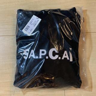 sacai - 新品 sacai A.P.C. HOODIE TAIYO ブラック L apc