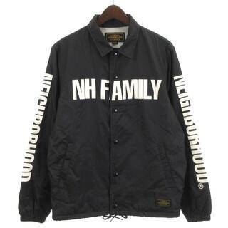 NEIGHBORHOOD - ネイバーフッド 17AW BROOKS/N-JKT コーチジャケット 黒 S