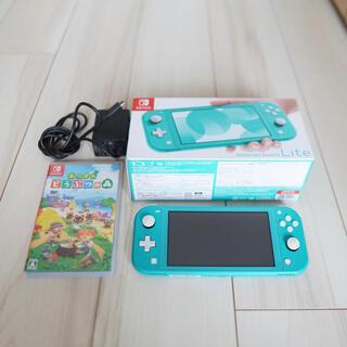 Nintendo Switch - 【早い者勝ち】Switch Lite本体+どうぶつの森ソフトセット