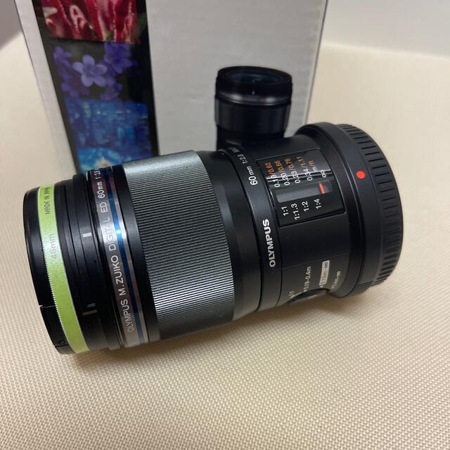 OLYMPUS(オリンパス)のM.Zuiko Digital ED 60mm f2.8 Macro スマホ/家電/カメラのカメラ(レンズ(単焦点))の商品写真