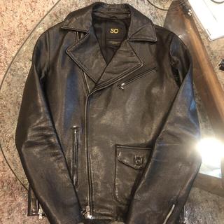 ビームス(BEAMS)のチンクアンタラムナッパレザー46サイズ(レザージャケット)
