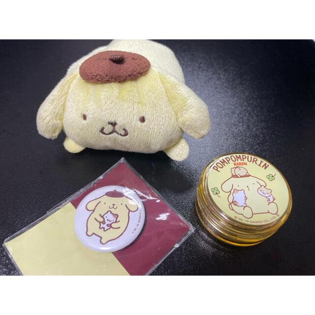 ポムポムプリン(ポムポムプリン)のポムポムプリンセット エンタメ/ホビーのおもちゃ/ぬいぐるみ(キャラクターグッズ)の商品写真