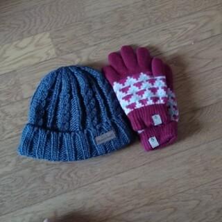 mont bell - mont-bell帽子と手袋セット
